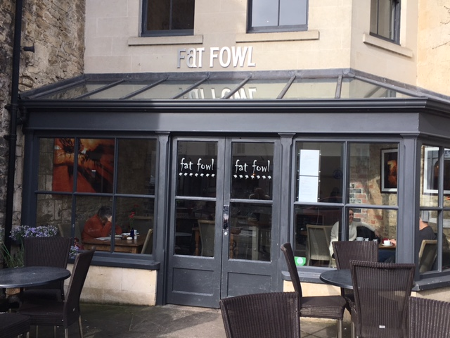 Lunch at the Fat Fowl