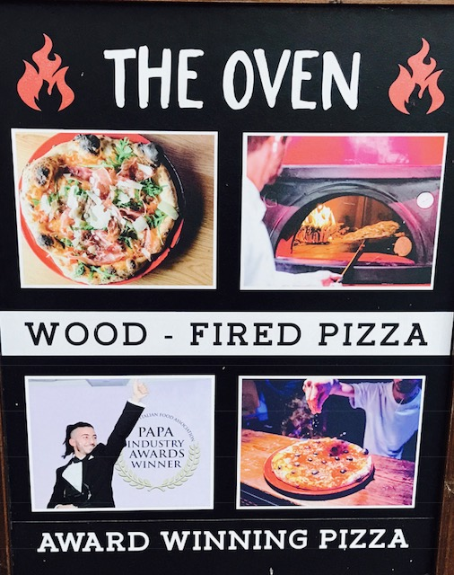 Pizzas from The Oven
