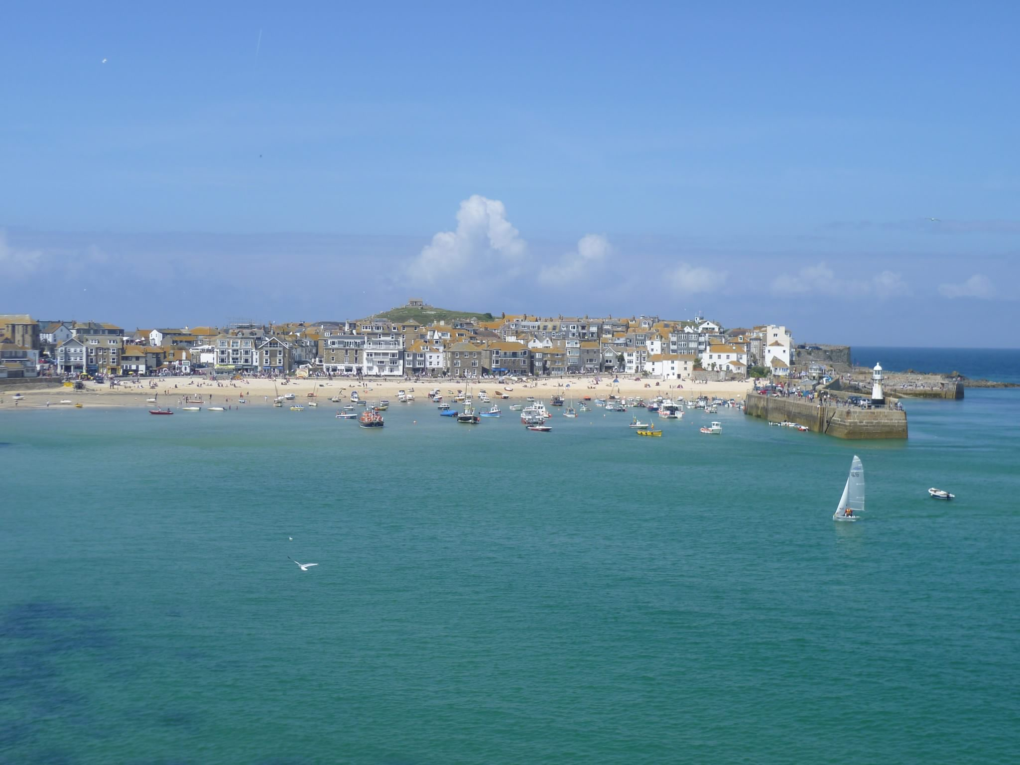 St Ives in the sunshine