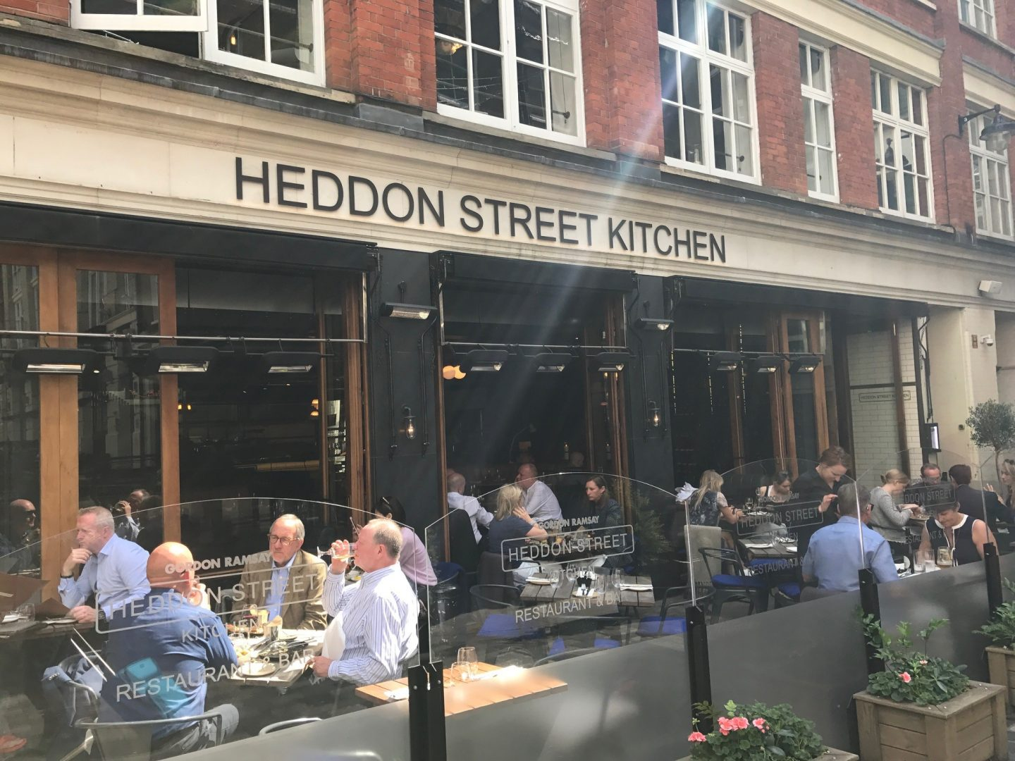 Delicious Food at Heddon Street Kitchen