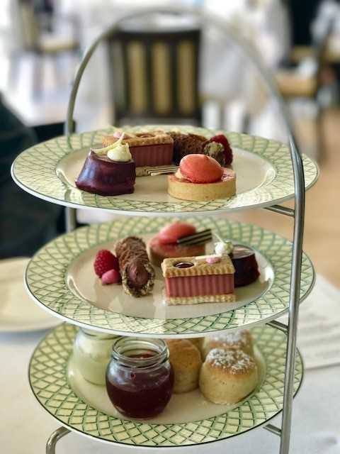 sweet afternoon tea platter