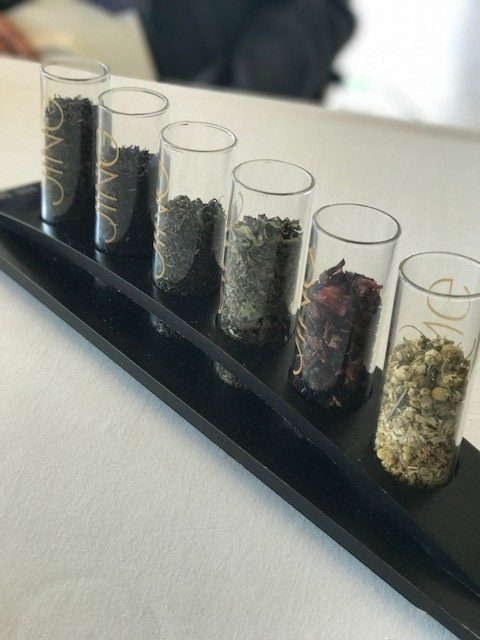 Selection of Tea Leaves