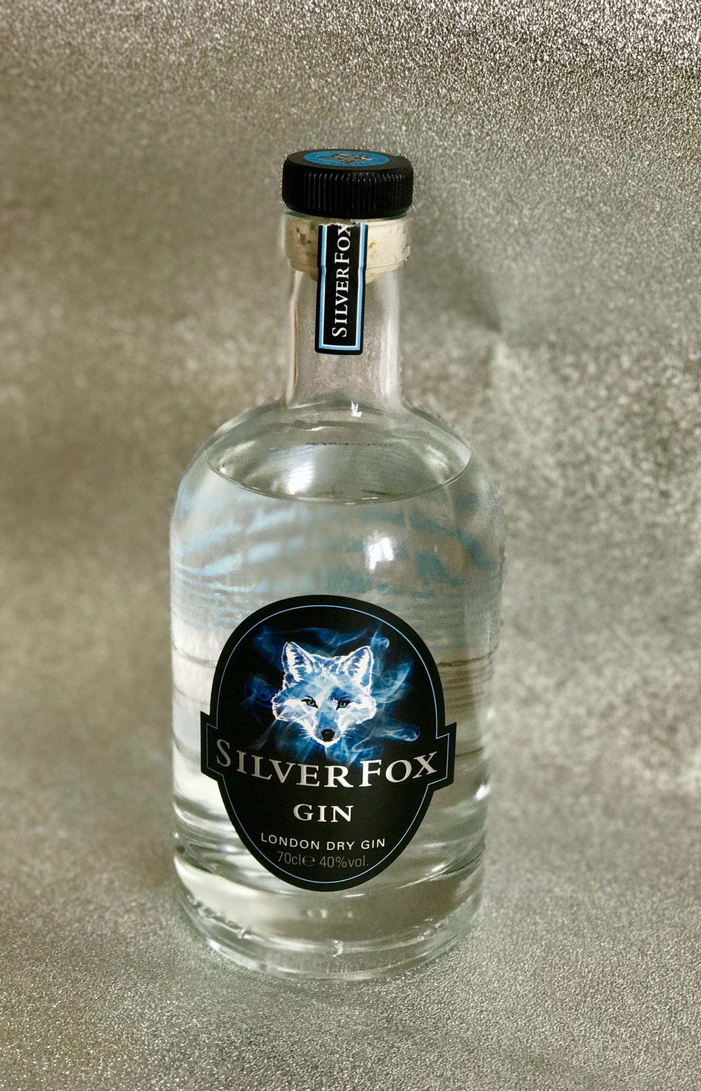 There's a new Gin…made in my town! Silver Fox Gin!