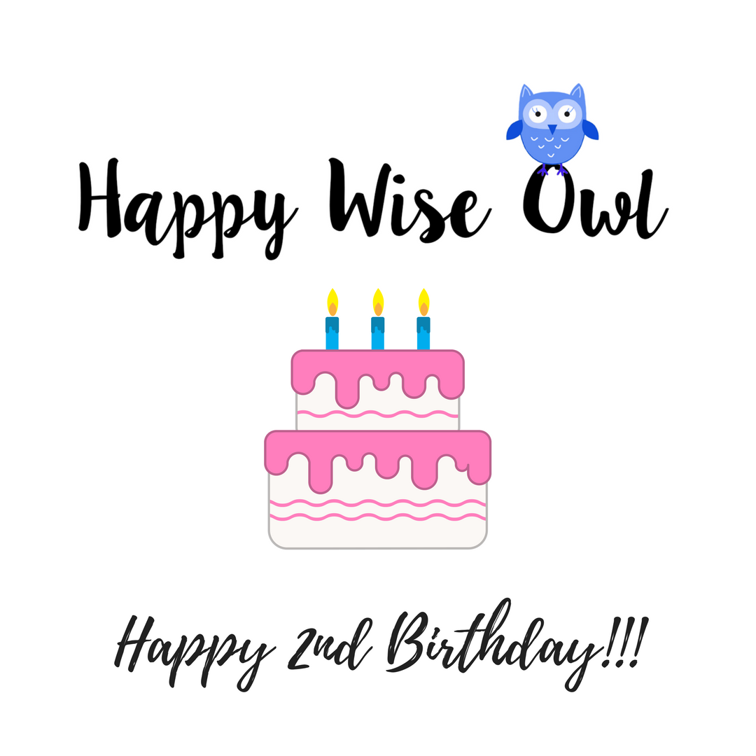 HappyWiseOwl is 2!