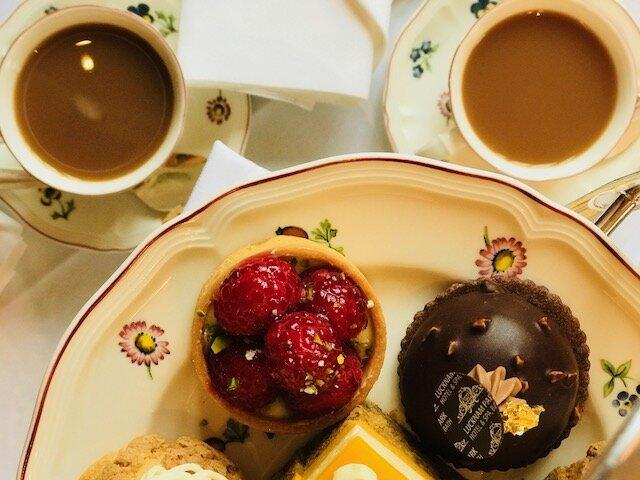 Afternoon Tea at Lucknam Park
