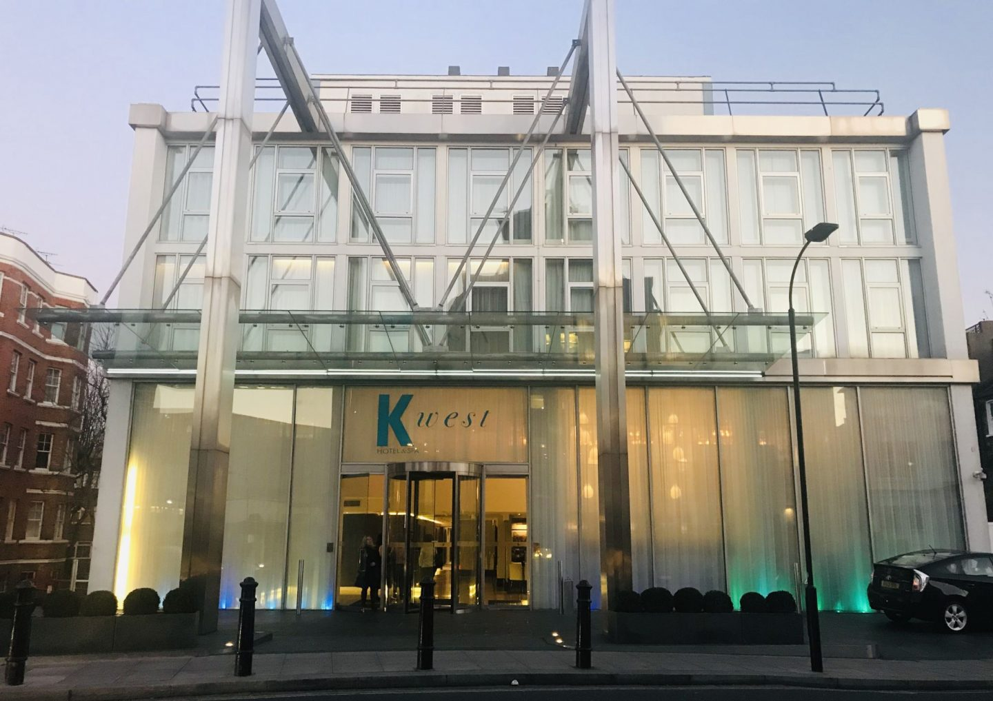 Staying at K West Hotel