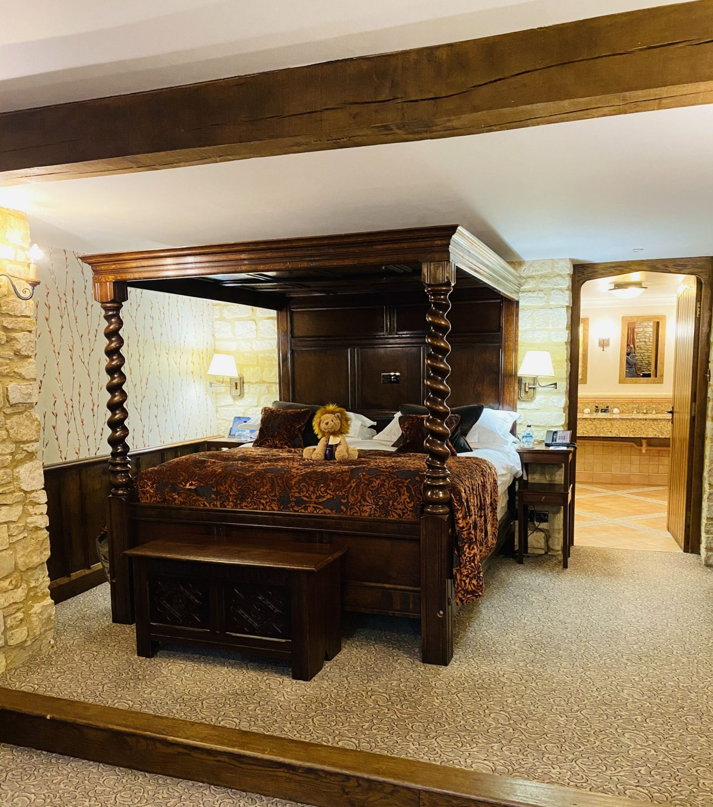 Staying at The Manor, Castle Coombe