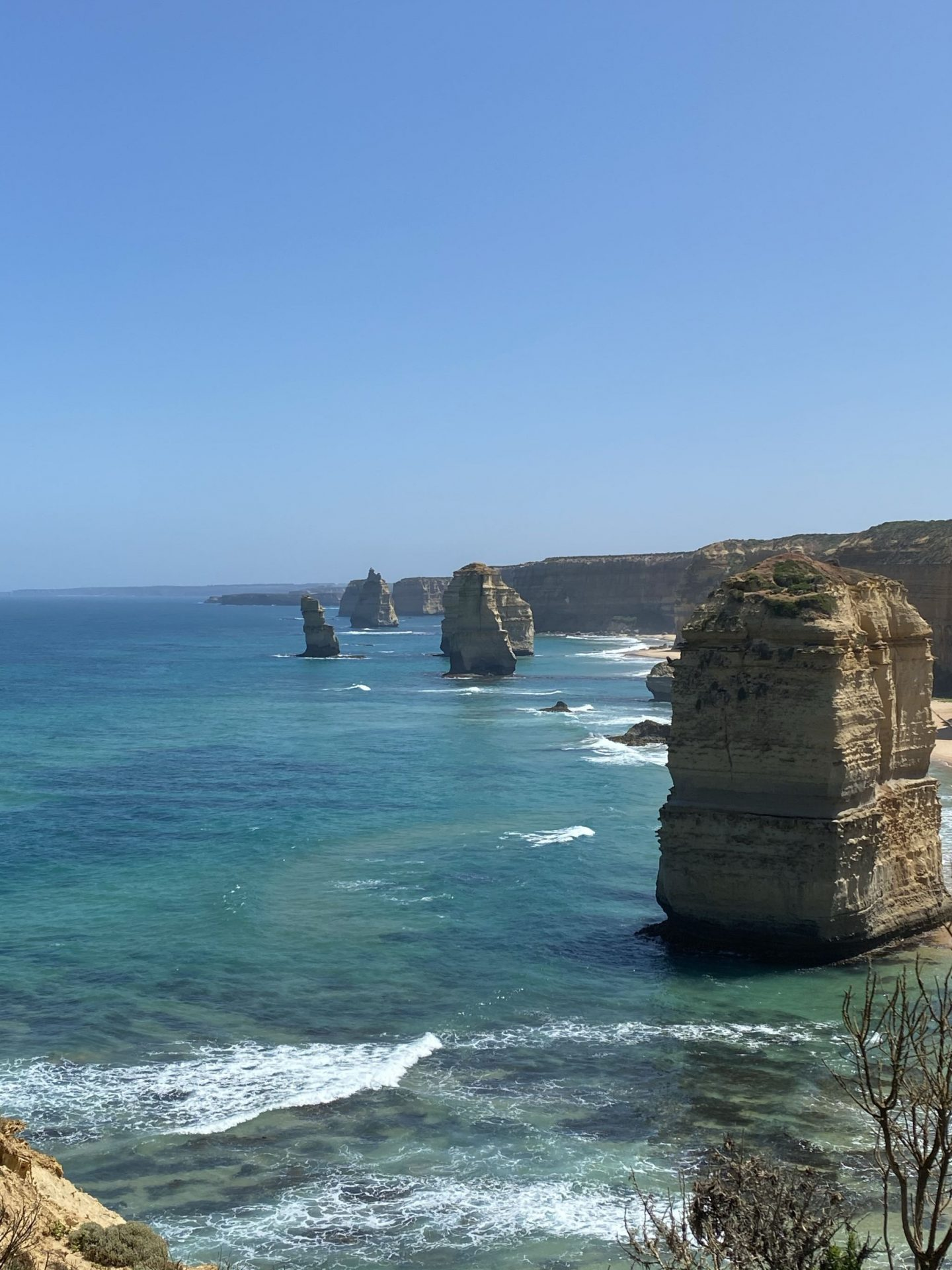 twelve apostles in the sea in Australia